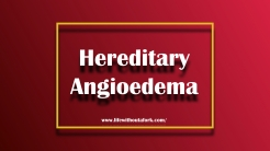 Hereditary Angioedema patient are born missing a vital protein known as C1 Inhibitor. They are given this same protein, along with many other expensive and self injecting medications for treatment.