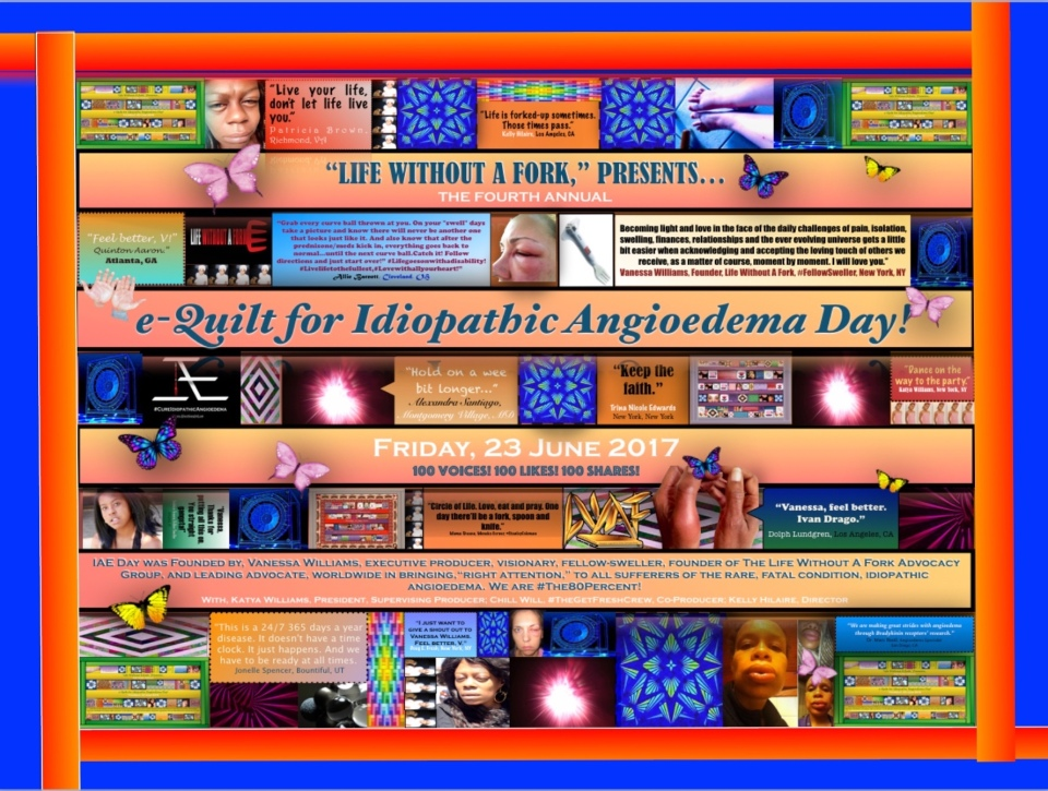 e-Quilt for IAE Day June 23 2017