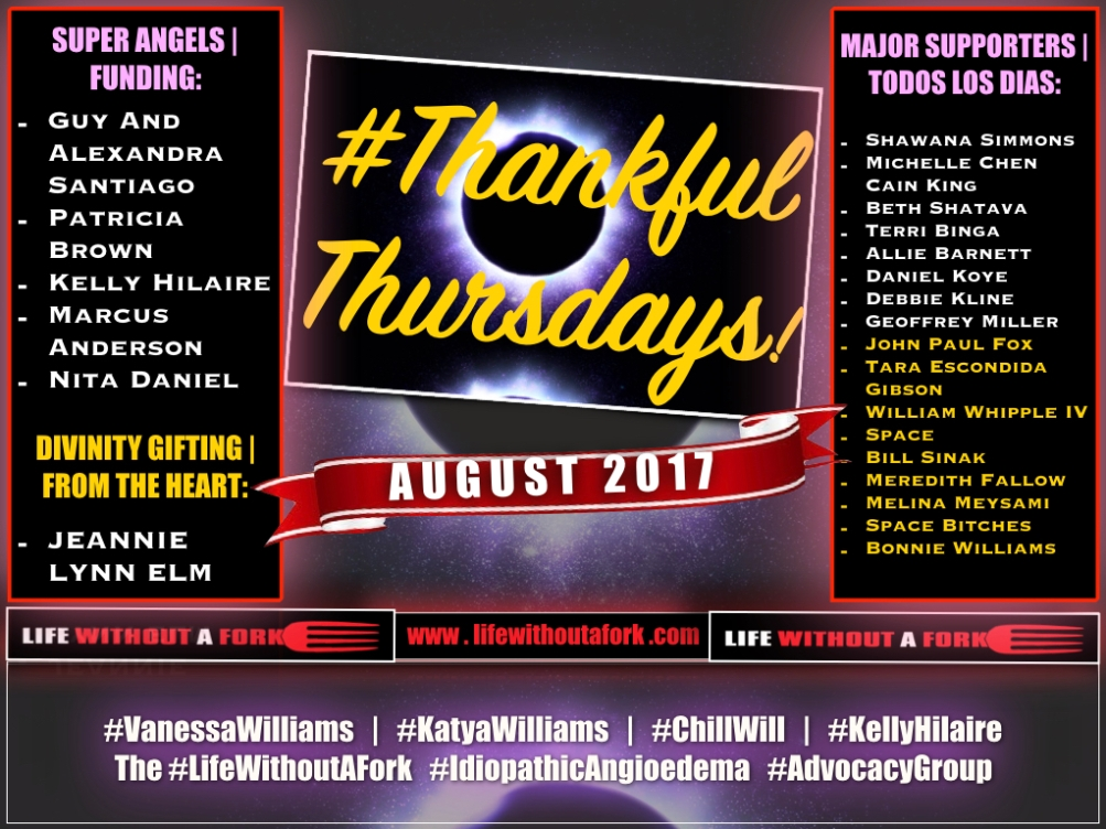 Life Without A Fork   Thankful Thursdays   08.24.17