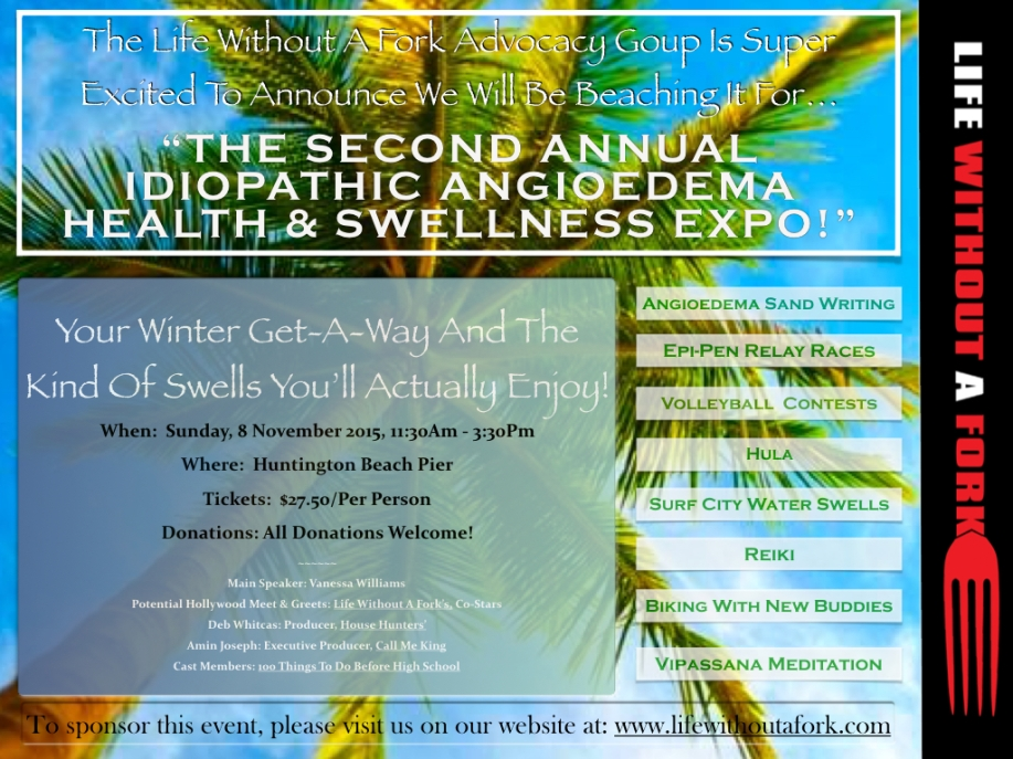 The Second Annual Idiopathic Angioedema Health & Swellness Expo.001