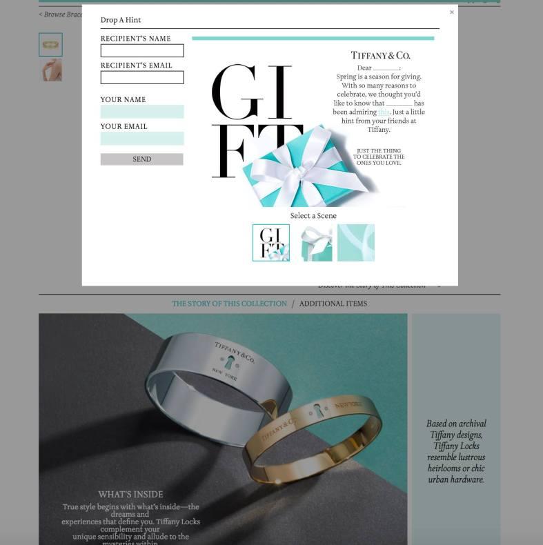 Tiffany's Key Bracelet