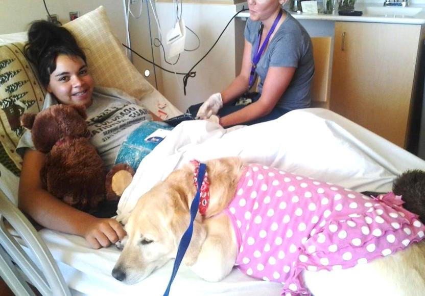 Solstice Jensen_Nurse_Hospital Bed