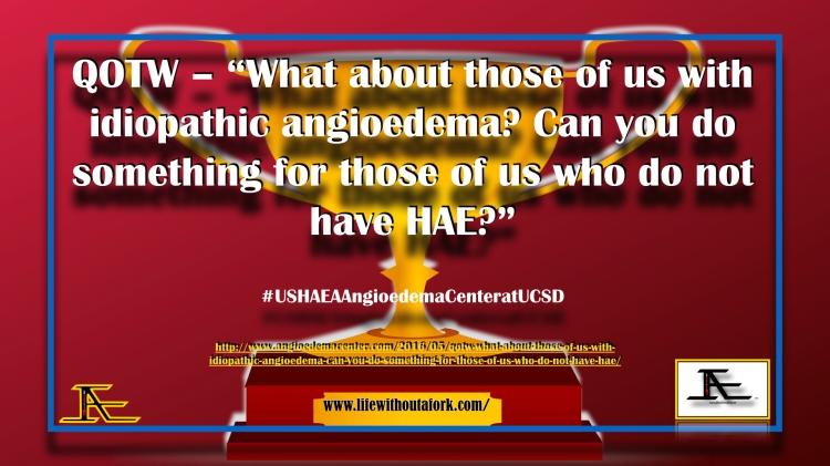 Scholarly Studies_USHAEAAngioedemaCenteratUCSD .001